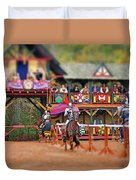 The Jousters Duvet Cover