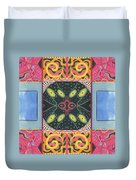 The Joy Of Design I X Arrangement Doors Duvet Cover