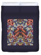 The Joy Of Design Mandala Series Puzzle 1 Arrangement 9 Duvet Cover