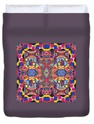 The Joy Of Design Mandala Series Puzzle 3 Arrangement 1 Duvet Cover