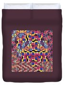 The Joy Of Design Mandala Series Puzzle 3 Arrangement 8 Duvet Cover