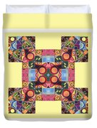The Joy Of Design Series Arrangement - Seek And You Will Find Duvet Cover