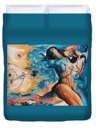 On The Edge Of Dreams Duvet Cover