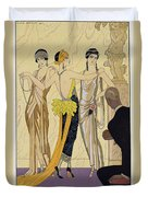 The Judgement Of Paris Duvet Cover