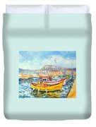 The Kalk Bay Harbour Duvet Cover
