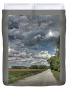 The Katy Trail Duvet Cover by Jane Linders