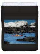 The Kayaker Duvet Cover