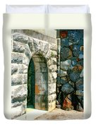 The Keep Biltmore Asheville Nc Duvet Cover by William Dey