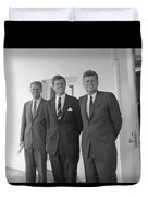 The Kennedy Brothers Duvet Cover