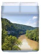 The Kentucky River Duvet Cover