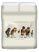 The Kindly Robin Duvet Cover
