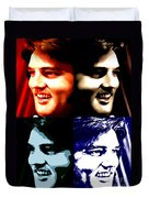 The King Of Rock And Roll Duvet Cover