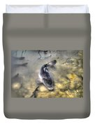The King Of The Pond Duvet Cover