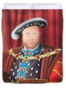 The Kings Head Duvet Cover