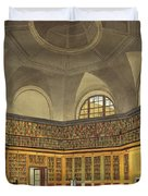 The Kings Library Duvet Cover