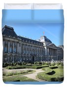 The King's Palace In Brussels Duvet Cover