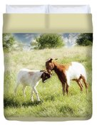 The Kiss Duvet Cover by Amy Tyler