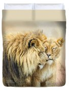 The Kiss Duvet Cover