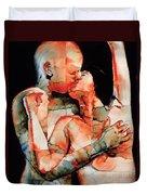 The Kiss Duvet Cover by Graham Dean