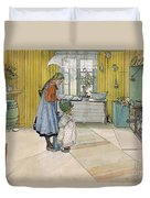 The Kitchen From A Home Series Duvet Cover