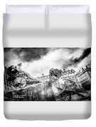 The Knight Of Freedom Duvet Cover
