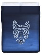 The Knotty Wolf Duvet Cover