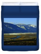 The Kootanie River In Bonners Ferry Idaho Duvet Cover