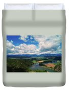 The Kootenai River Duvet Cover