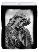 The Lady In Mourning 03 Bw Duvet Cover