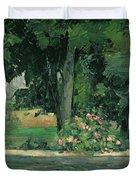 The Lake At Jas De Bouffan, C.1873-76 Duvet Cover