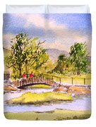The Lake District - Slater Bridge Duvet Cover