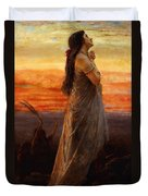 The Lament Of Jephthahs Daughter Duvet Cover