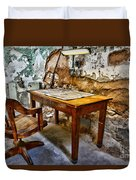 The Lamp And The Chair Duvet Cover