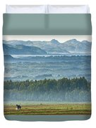 The Land Of A Thousand Hills Duvet Cover