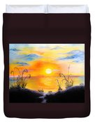 The Land Of The Dying Sun Duvet Cover