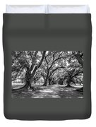 The Lane Bw Duvet Cover by Steve Harrington