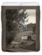 The Lane Sepia Duvet Cover