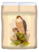 The Lanner Falcon Duvet Cover