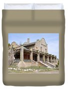 The Las Vegas And Tonopah Railroad Depot Duvet Cover