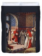 The Last Council Of Boabdil Duvet Cover