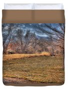 The Last Days Of Fall Duvet Cover