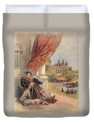 The Last Days Of Francis I Duvet Cover