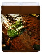The Last Leaf Duvet Cover