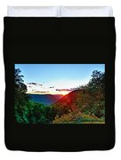 The Last Rays Duvet Cover
