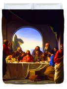 The Last Supper By Carl Heinrich Bloch Duvet Cover