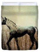 The Last Unicorn Duvet Cover by Bob Orsillo