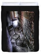 The Last Visitor Duvet Cover