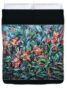The Late Bloomers Duvet Cover by Xueling Zou
