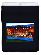 The Laughing Clowns  Duvet Cover