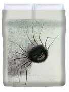 The Laughing Spider Duvet Cover